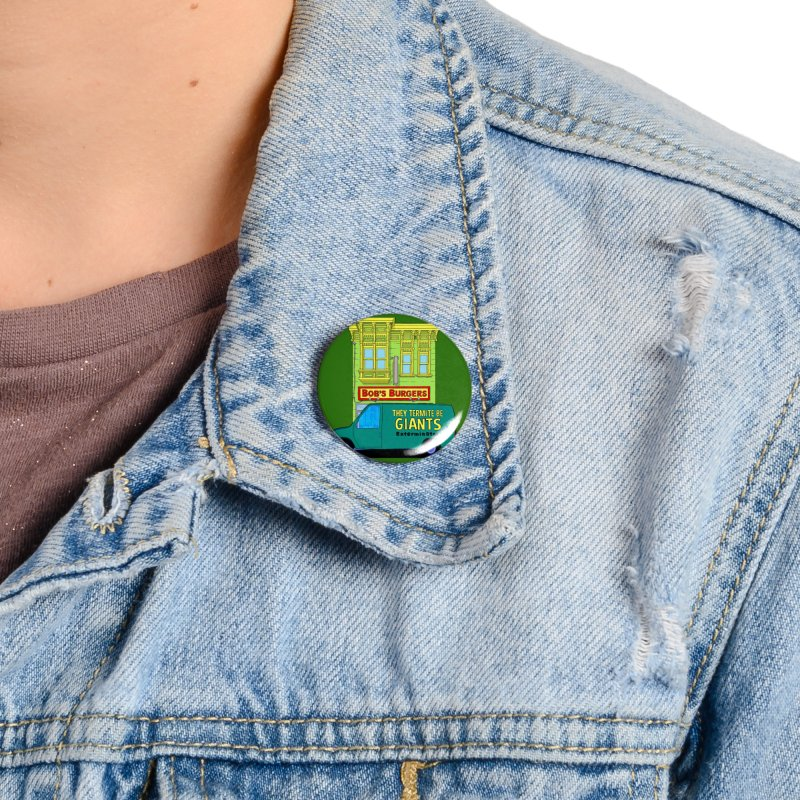 You Must Be Thinking of Some Other Bob Accessories Button by steamwhistlealley's Artist Shop