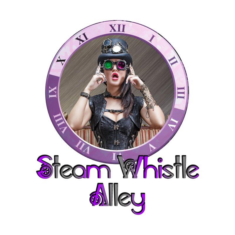 Steam Whistle Alley Clock by steamwhistlealley's Artist Shop