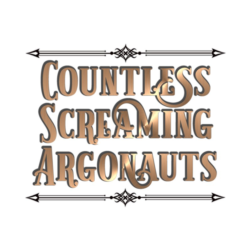 Countless Screaming Argonauts Men's T-Shirt by steamwhistlealley's Artist Shop