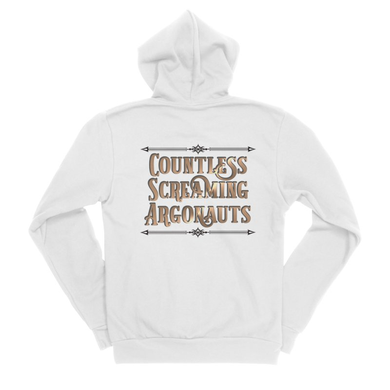 Countless Screaming Argonauts Women's Sponge Fleece Zip-Up Hoody by steamwhistlealley's Artist Shop