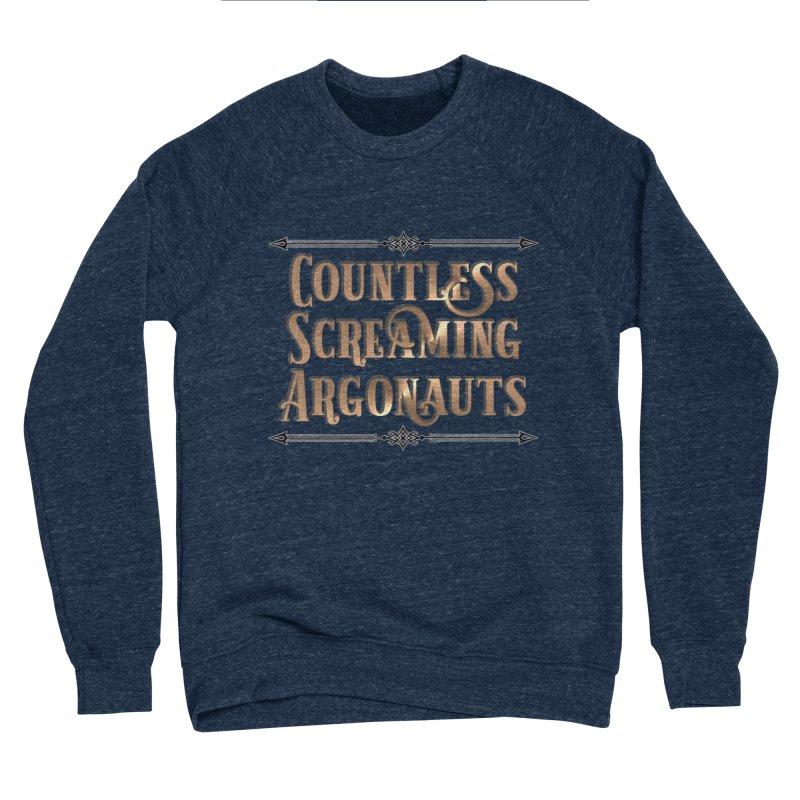Countless Screaming Argonauts Men's Sponge Fleece Sweatshirt by steamwhistlealley's Artist Shop