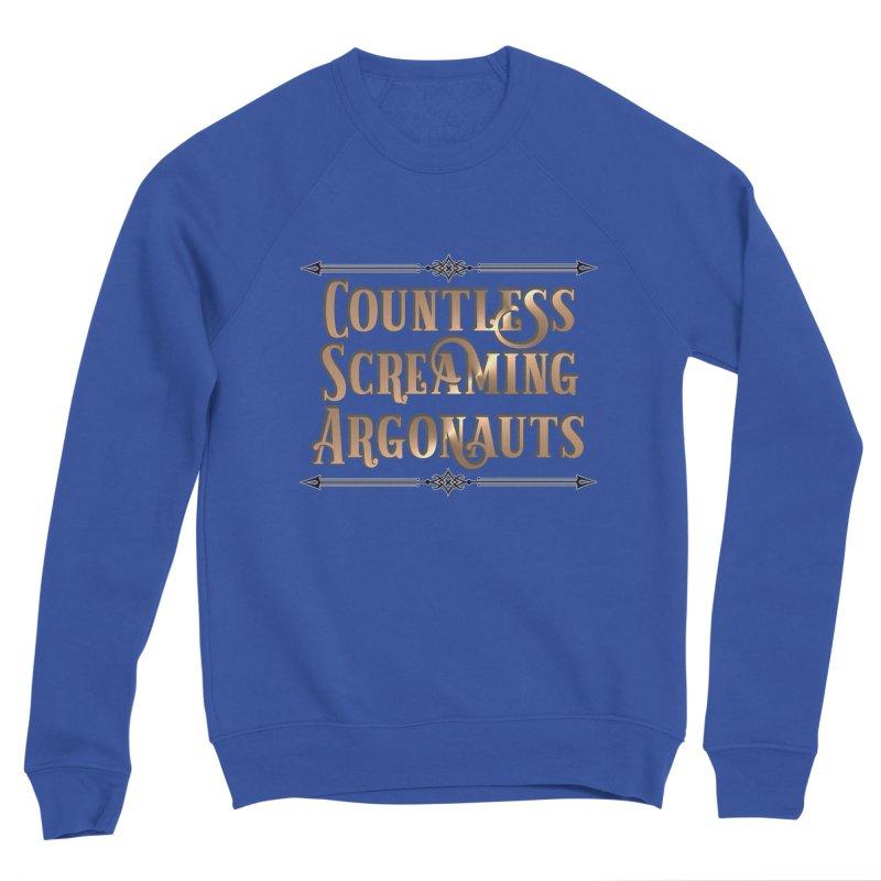 Countless Screaming Argonauts Men's Sweatshirt by steamwhistlealley's Artist Shop