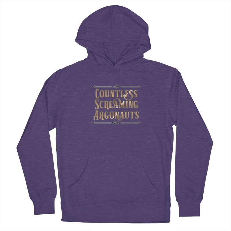 Countless Screaming Argonauts Women's French Terry Pullover Hoody by steamwhistlealley's Artist Shop