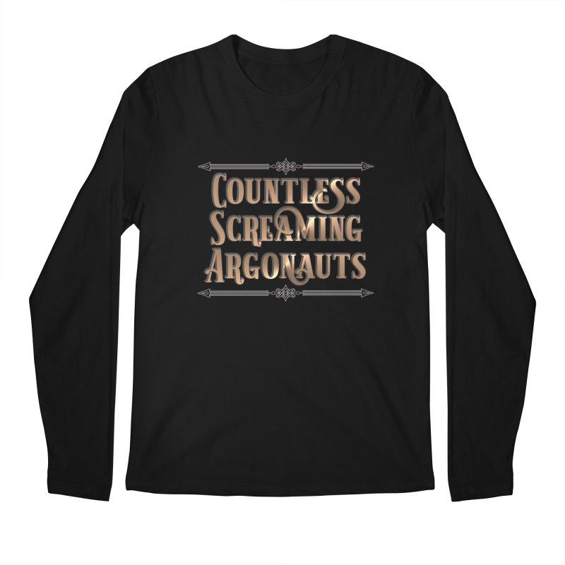 Countless Screaming Argonauts Men's Regular Longsleeve T-Shirt by steamwhistlealley's Artist Shop