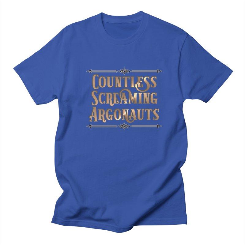 Countless Screaming Argonauts Men's Regular T-Shirt by steamwhistlealley's Artist Shop