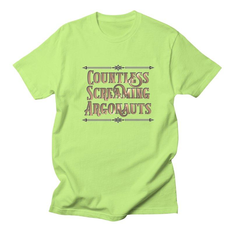 Countless Screaming Argonauts Women's Regular Unisex T-Shirt by steamwhistlealley's Artist Shop