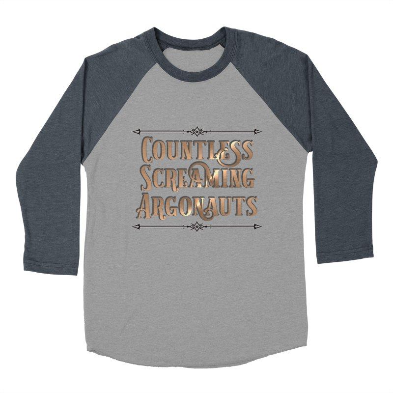 Countless Screaming Argonauts Men's Baseball Triblend Longsleeve T-Shirt by steamwhistlealley's Artist Shop