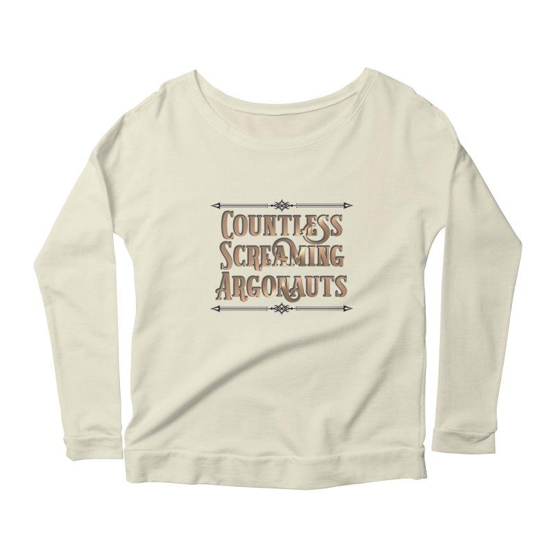 Countless Screaming Argonauts Women's Scoop Neck Longsleeve T-Shirt by steamwhistlealley's Artist Shop