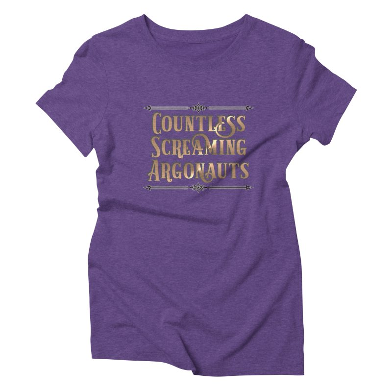 Countless Screaming Argonauts Women's Triblend T-Shirt by steamwhistlealley's Artist Shop