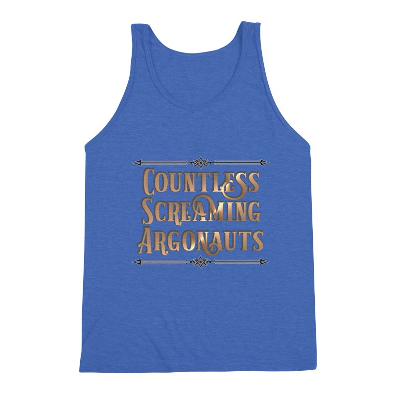 Countless Screaming Argonauts Men's Triblend Tank by steamwhistlealley's Artist Shop