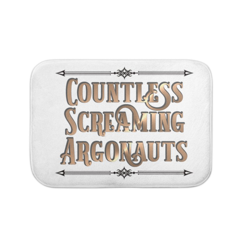 Countless Screaming Argonauts Home Bath Mat by steamwhistlealley's Artist Shop