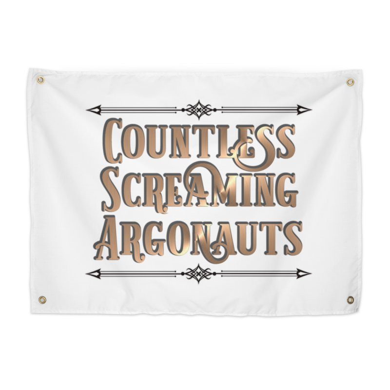 Countless Screaming Argonauts Home Tapestry by steamwhistlealley's Artist Shop