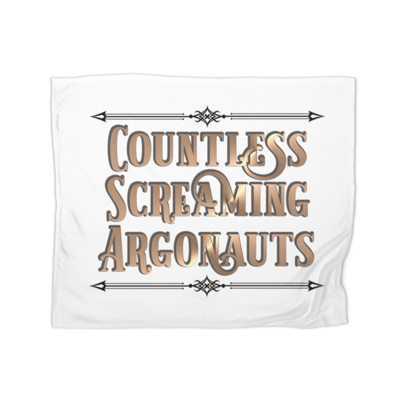Countless Screaming Argonauts Home Fleece Blanket Blanket by steamwhistlealley's Artist Shop