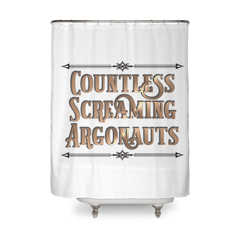 Countless Screaming Argonauts Home Shower Curtain by steamwhistlealley's Artist Shop