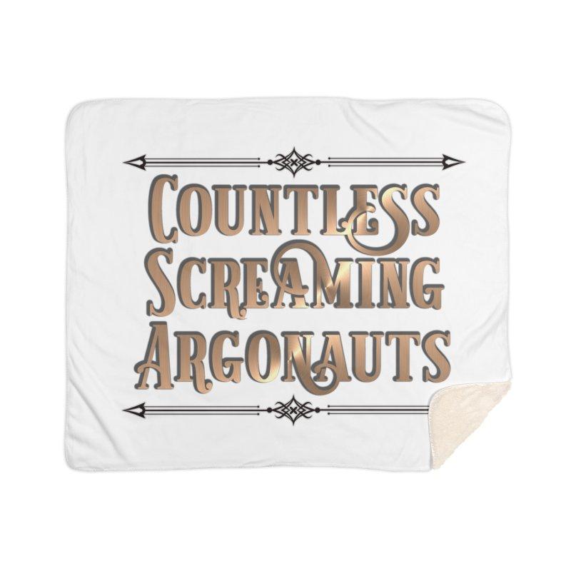 Countless Screaming Argonauts Home Blanket by steamwhistlealley's Artist Shop