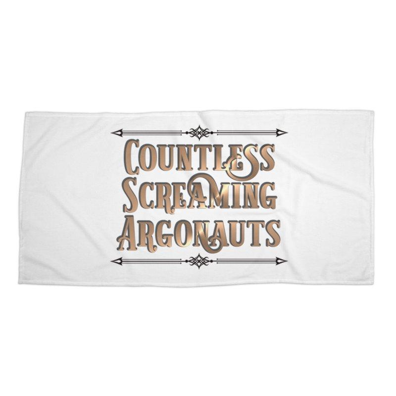 Countless Screaming Argonauts Accessories Beach Towel by steamwhistlealley's Artist Shop