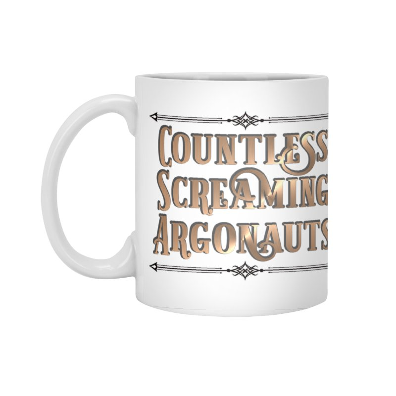Countless Screaming Argonauts Accessories Standard Mug by steamwhistlealley's Artist Shop