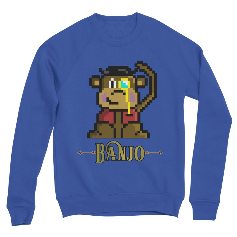 Banjo the Biosynthetic Monkey Women's Sweatshirt by steamwhistlealley's Artist Shop