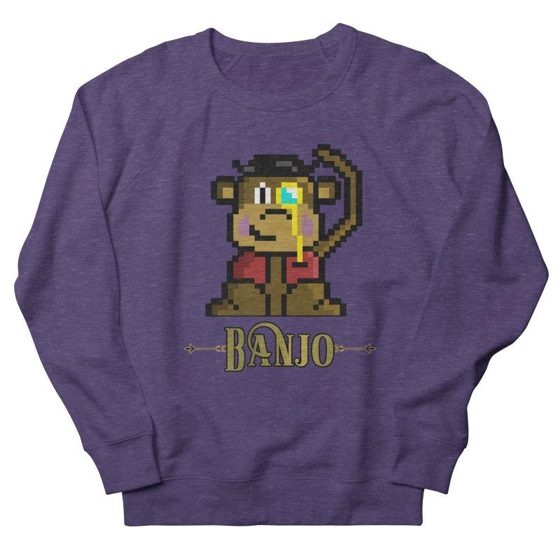 Banjo the Biosynthetic Monkey Women's French Terry Sweatshirt by steamwhistlealley's Artist Shop