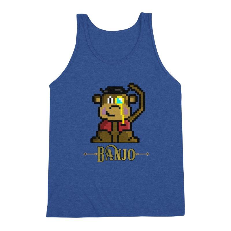 Banjo the Biosynthetic Monkey Men's Tank by steamwhistlealley's Artist Shop