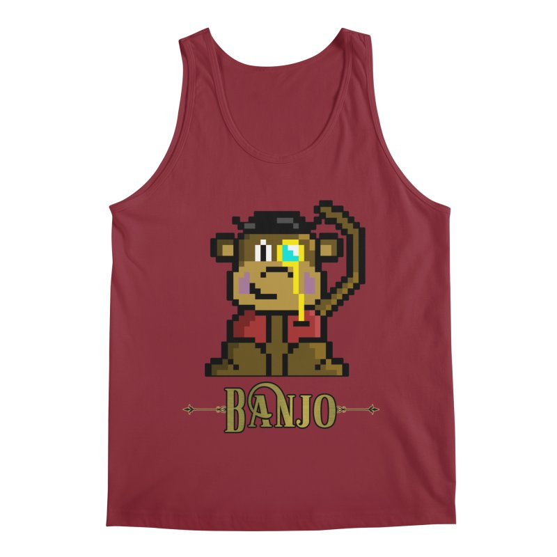 Banjo the Biosynthetic Monkey Men's Regular Tank by steamwhistlealley's Artist Shop