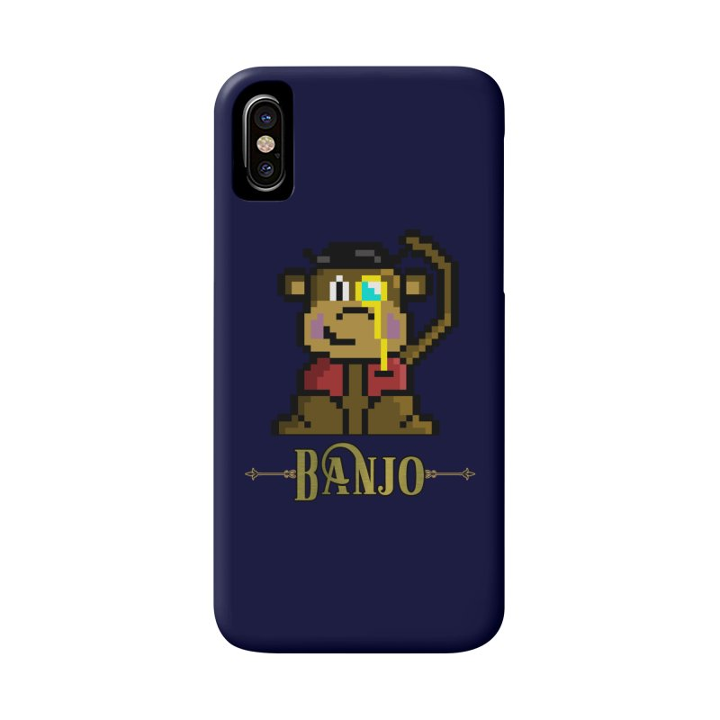 Banjo the Biosynthetic Monkey Accessories Phone Case by steamwhistlealley's Artist Shop