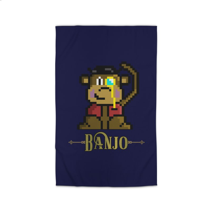 Banjo the Biosynthetic Monkey Home Rug by steamwhistlealley's Artist Shop