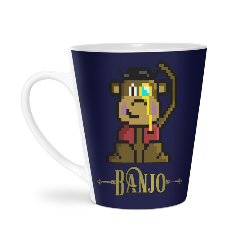 Banjo the Biosynthetic Monkey Accessories Mug by steamwhistlealley's Artist Shop
