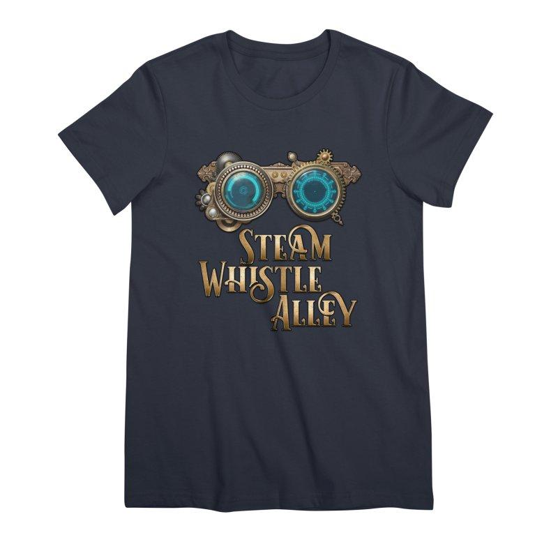 SWA Goggles Women's Premium T-Shirt by steamwhistlealley's Artist Shop