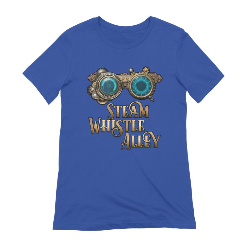 SWA Goggles Women's Extra Soft T-Shirt by steamwhistlealley's Artist Shop