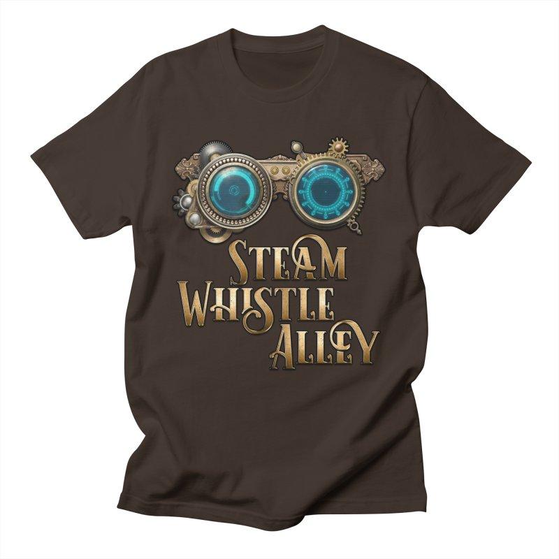 SWA Goggles Men's T-Shirt by steamwhistlealley's Artist Shop