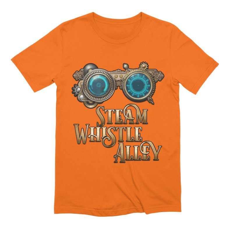 SWA Goggles Men's Extra Soft T-Shirt by steamwhistlealley's Artist Shop