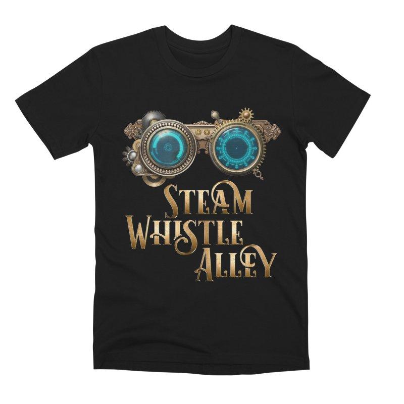 SWA Goggles Men's Premium T-Shirt by steamwhistlealley's Artist Shop