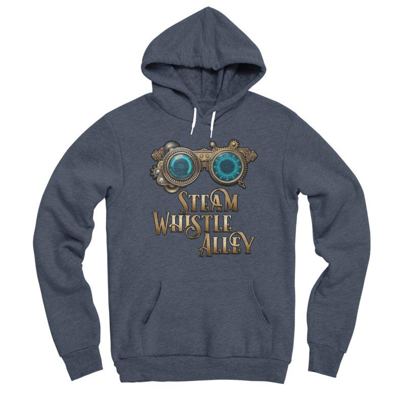 SWA Goggles Men's Sponge Fleece Pullover Hoody by steamwhistlealley's Artist Shop
