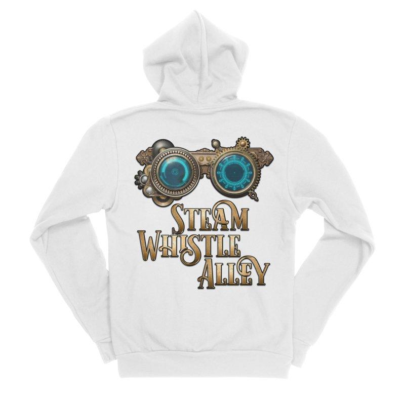 SWA Goggles Men's Sponge Fleece Zip-Up Hoody by steamwhistlealley's Artist Shop