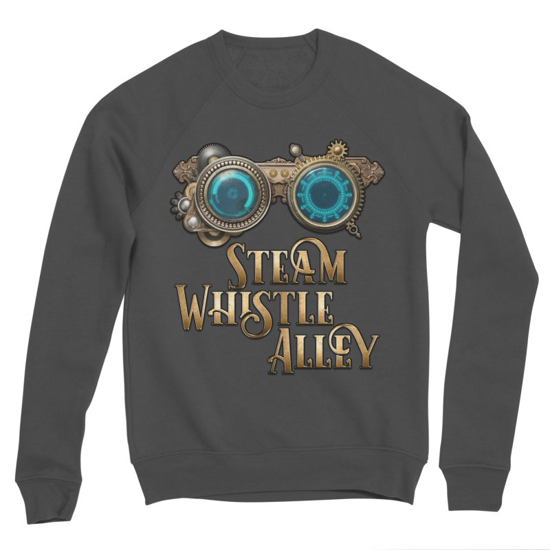 SWA Goggles Men's Sponge Fleece Sweatshirt by steamwhistlealley's Artist Shop