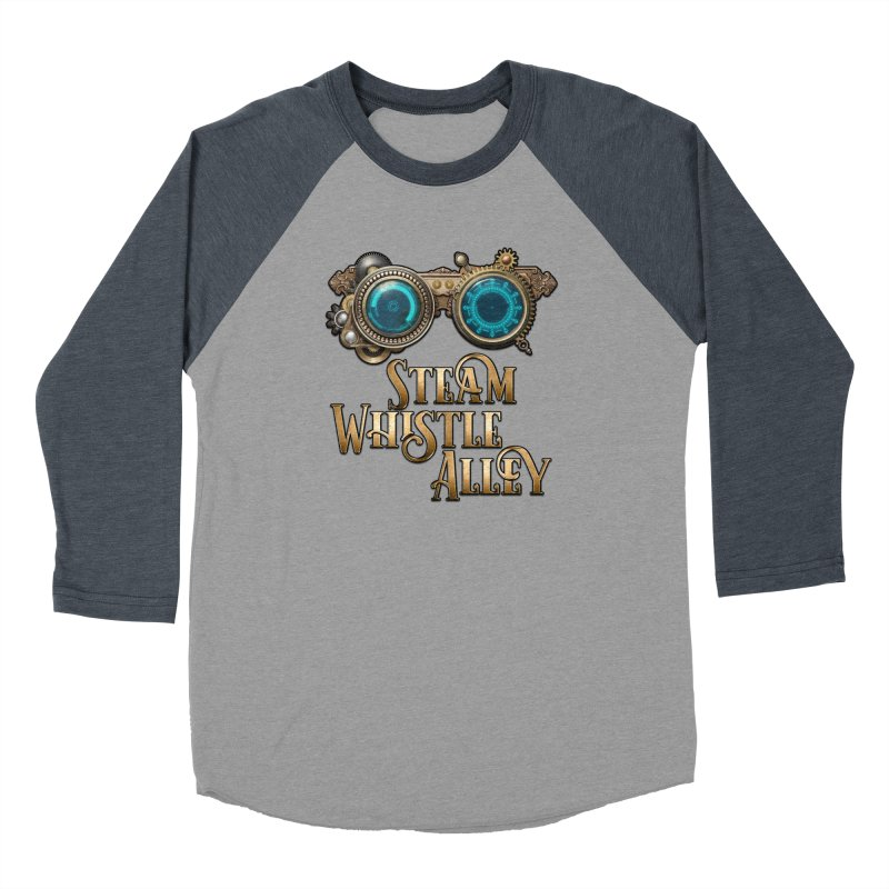 SWA Goggles Men's Baseball Triblend Longsleeve T-Shirt by steamwhistlealley's Artist Shop