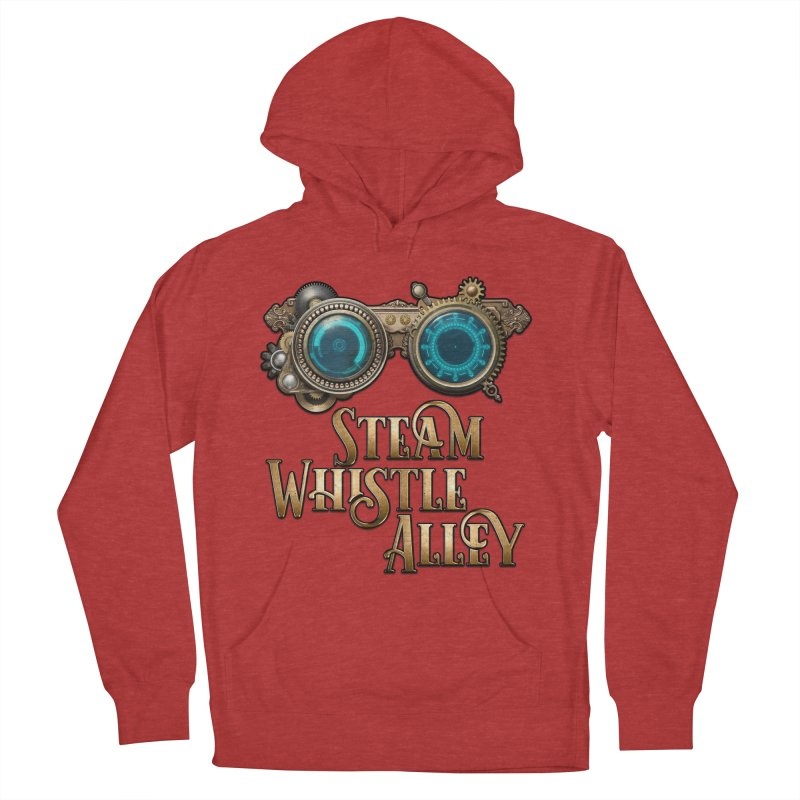 SWA Goggles Women's French Terry Pullover Hoody by steamwhistlealley's Artist Shop