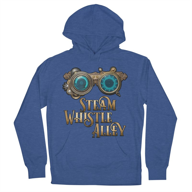 SWA Goggles Men's French Terry Pullover Hoody by steamwhistlealley's Artist Shop