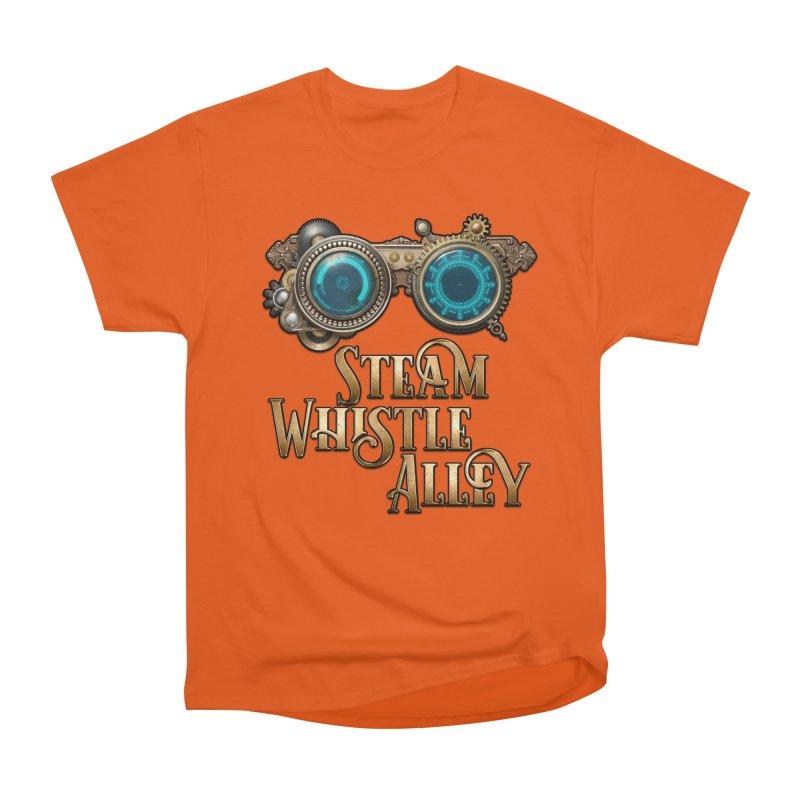 SWA Goggles Women's Heavyweight Unisex T-Shirt by steamwhistlealley's Artist Shop