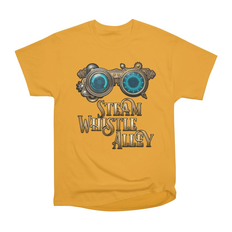 SWA Goggles Men's Heavyweight T-Shirt by steamwhistlealley's Artist Shop