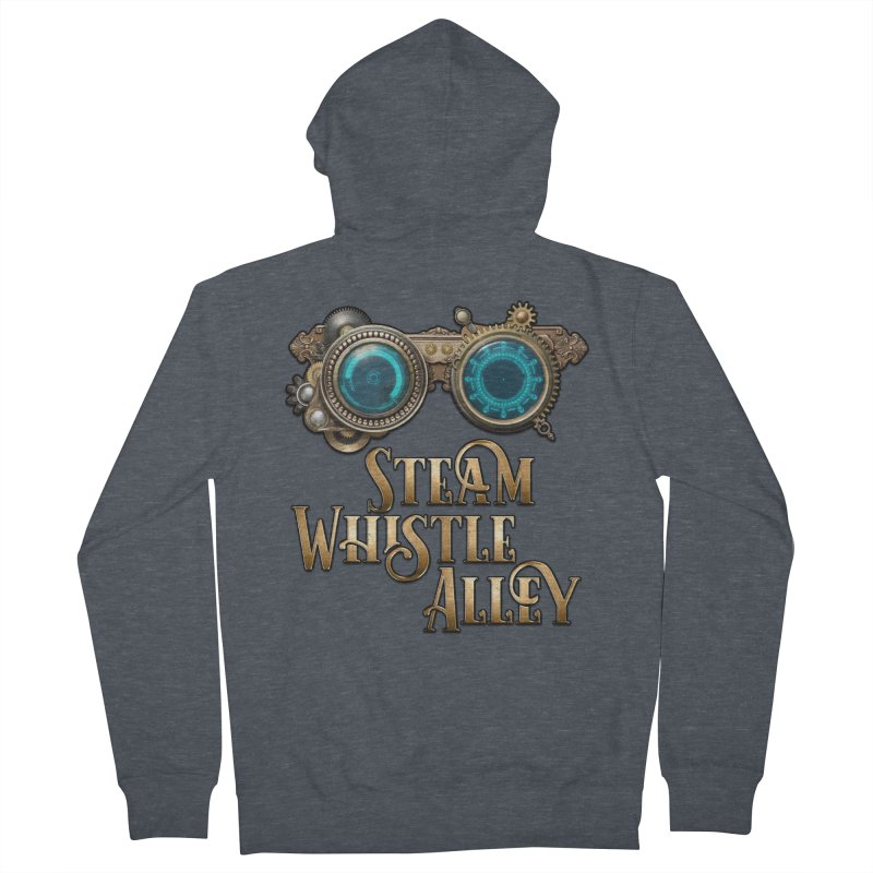 SWA Goggles Women's French Terry Zip-Up Hoody by steamwhistlealley's Artist Shop