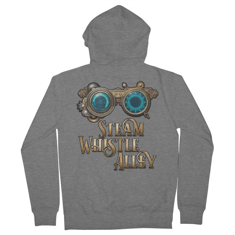 SWA Goggles Men's Zip-Up Hoody by steamwhistlealley's Artist Shop