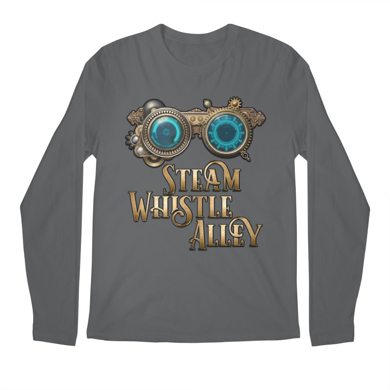 SWA Goggles Men's Longsleeve T-Shirt by steamwhistlealley's Artist Shop