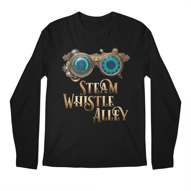 SWA Goggles Men's Regular Longsleeve T-Shirt by steamwhistlealley's Artist Shop