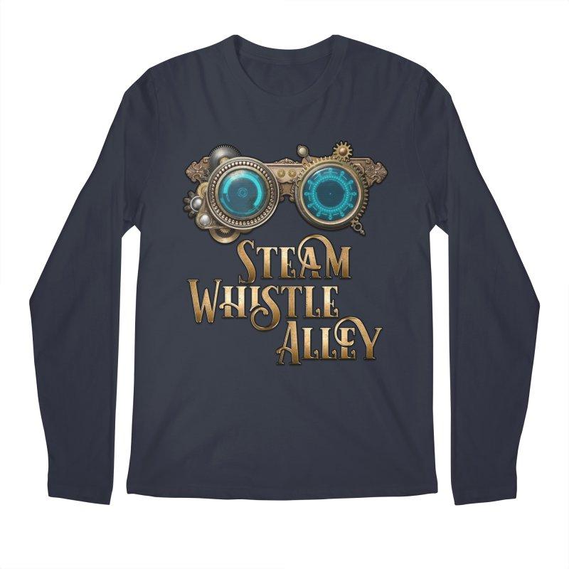 SWA Goggles Men's Regular Longsleeve T-Shirt by steamwhistlealley's Artist Shop