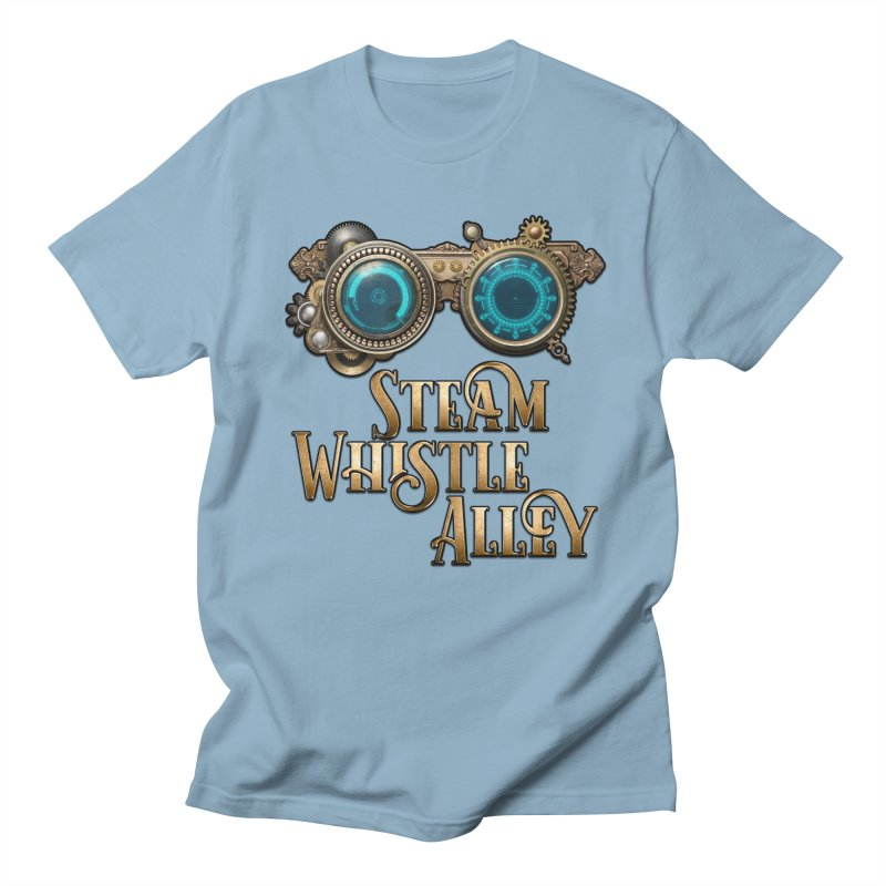 SWA Goggles Men's T-Shirt by steamwhistlealley's Artist Shop