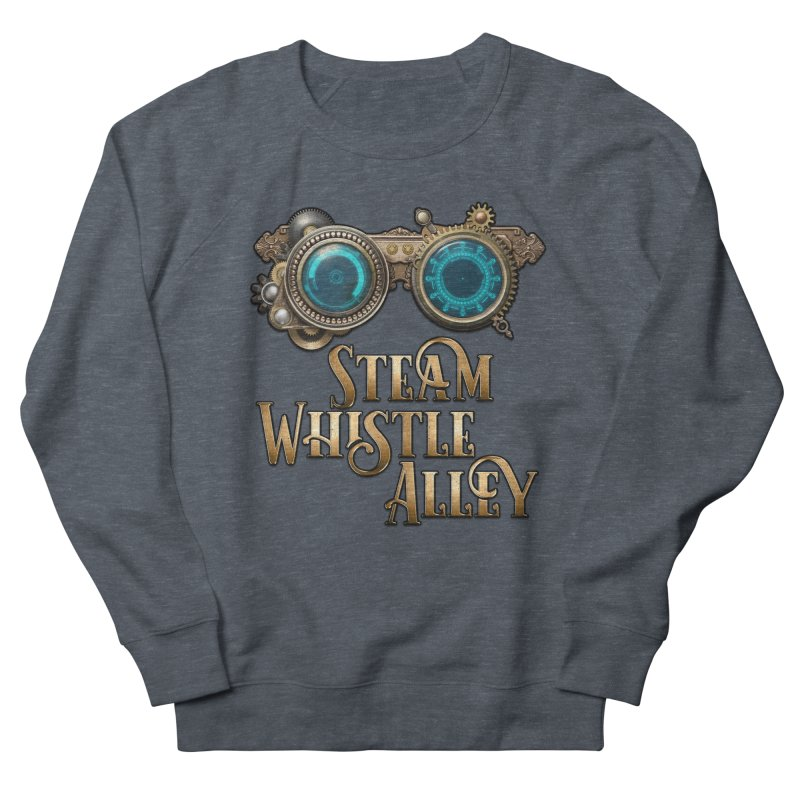 SWA Goggles Women's French Terry Sweatshirt by steamwhistlealley's Artist Shop