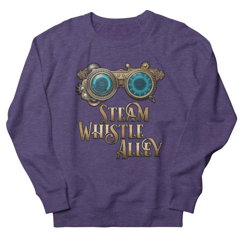 SWA Goggles Men's French Terry Sweatshirt by steamwhistlealley's Artist Shop