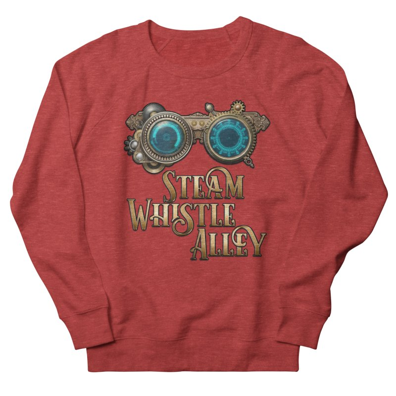 SWA Goggles Men's French Terry Sweatshirt by steamwhistlealley's Artist Shop